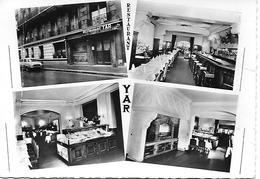 PARIS - 8 Eme  RESTAURANT YAR -  CUISINE FRANCO- RUSSE ET ORIENTALE -  CARTE EN L ETAT PLIURE COTE GAUCHE - Cafés, Hôtels, Restaurants