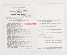 DOODSPRENTJE GUNST EUGENIE WEDUWE WAELES BEERST LAMPERNISSE 1889 - 1964 - Devotion Images