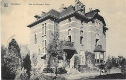 Boitsfort NA86: Villa De Monsieur Keym 1913 - Watermael-Boitsfort - Watermaal-Bosvoorde