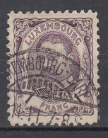 LUXEMBURG - Michel - 1906 - Nr 81 - Gest/Obl/Us - 1906 William IV