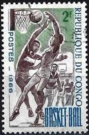 Congo (Braz) 1966 - Mi 97 -  YT 191 ( Sport : Basket ) - Congo - Brazzaville