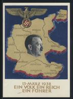 Deutsches Reich Propaganda Ganzsache Borna Leipzig Top Erhaltung 10.4.1938  - Germany
