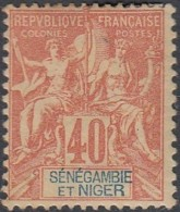 Sénégambie Et Niger - N° 10 (YT) N° 10 (AM) Neuf *. - Nuevos