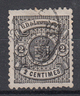 LUXEMBURG - Michel - 1880 - Nr 38B - Gest/Obl/Us - 1859-1880 Coat Of Arms