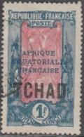 Tchad - N° 34 (YT) N° 33 (AM) Oblitéré. - Tchad (1922-1936)