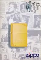 Catalogue Briquets ZIPPO 1996-97 - Verenigde Staten