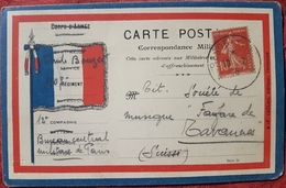 Carte FM - CPFM - FRANCHISE MILITAIRE - CORRESPONDANCE MILITAIRE - CARTE MILITAIRE - Frankreich
