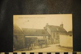CP,  61, ST OUEN DE SECHEROUVRE, Café CLINCHANT, TRES RARE, 1924 - Autres Communes