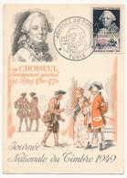 TUNISIE - Carte Fédérale - Journée Du Timbre 1949 TUNIS (Choiseul) - Lettres & Documents