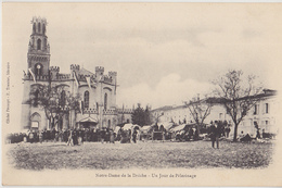 LESCURE D'ALBIGEOIS  Notre Dame De La Drèche  Un Jour De Pélérinage - Lescure
