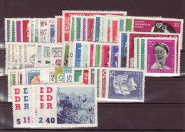 DDR, Kpl. Jahrgang 1961** (K 5970) - Nuovi