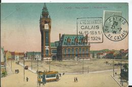 DAGUIN - FETE DE LA MER- CALAIS -1924 - Storia Postale