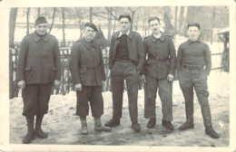 Carte Photo De Prisonniers Français Au Stalag IX-C De BAD SULZA Près D'Erfurt En Allemagne Guerre 1939 - Oorlog 1939-45