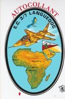CPSM AVIATION E.C.3/7 LANGUEDOC  BLASON ADHESIF - Aviation