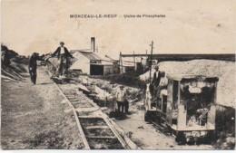 02 MONCEAU-le-NEUF - Usine De Phosphates - Sonstige Gemeinden
