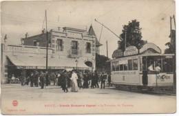 54 NANCY - Grande Brasserie Vagner  - Le Terminus Du Tramway - Nancy