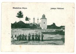 RO 63 - 9599 RASCA, Jud Falticeni, Bukowina, Romania - Old Postcard - Used - 1915 - Roumanie
