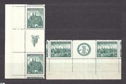 Czechoslovakia 1938 MNH ** Mi 400-401 Zw Sc 249-250 Exhibitions Plzen And Kosice. Tschechoslowakei. C3 - Ungebraucht