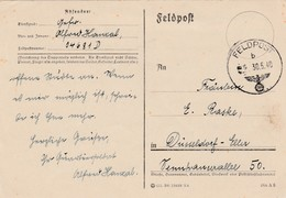Feldpostkaart Oop 30 MEI 1940 Geschreven Vanuit België (Im Westen) - Guerre 40-45