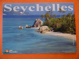 AIRLINE ISSUE / CARTE COMPAGNIE    AIR SEYCHELLES - 1946-....: Ere Moderne