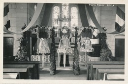 Aguilcourt (02 Aisne) Carte Photo L'église Saint Maurice Bénédiction Des Cloches Après Reconstruction ? Phot Peppy Reims - Autres Communes