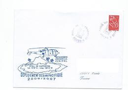 17491 - FREGATE PRAIRIAL - Détachement 22S -- DEPLOIEMENT OCEAN PACIFIQUE - ATOLL DE CLIPPERTON - Décembre 2006 - Poste Navale