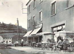 07 ARDECHE Epicerie Casino Mélis André Et Terrasse Du Café à Saint-CIRGUES En MONTAGNE - Francia