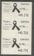 ESPAÑA SPAIN ATM VICTIMAS DEL TERRORISMO - 1931-Today: 2nd Rep - ... Juan Carlos I