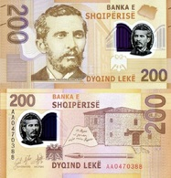 ALBANIA 200 LEKE 2019 P NEW UNC POLYMER - Albanien
