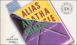 Großbritannien-Markenheftchen 95 Königin Elisabeth II Agatha Christie 1991, ** - Carnets