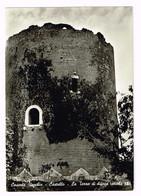V4751 Caserta Vecchia - Il Castello - La Torre Di Difesa Del Secolo IX / Viaggiata 1961 - Caserta