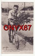 Georges Gaston PAILLARD Champion Monde Stayer Français 1929 Nancy-Baccarat  SPORT-CYCLISME-VELO-BICYCLETTE-CYCLISTE - Wielrennen