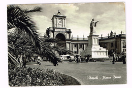 V4756 Napoli - Piazza E Monumento A Dante Alighieri / Viaggiata 1962 - Napoli