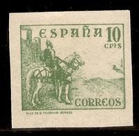 España Edifil 817s  SIN DENTAR 10 Céntimos Cifras, Cid E Isabel  1937/40  NL1513 - 1931-Heute: 2. Rep. - ... Juan Carlos I