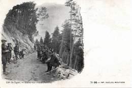 CPA 73 158e De Ligne Chasseurs Alpins N°90 - France