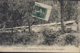 CPA Le Lot Illustré Saint St Martin De Vers Ruché De L'Abbé Barrès YT 137 Avec Coin Carnet CAD Cahors 7 1 13 - France