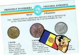 Viguerie NOTICIE NUMISMATIQUE In Spain 1983  Postal Franquicia - Timbres