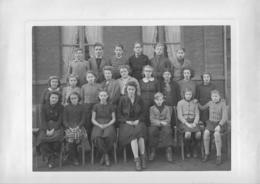GONDECOURT    Grande  Photo  College Moderne 5eme 1944 1945 Prof Mons Riquet - Otros Municipios