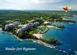 Brunei Bandar Seri Begawan Aerial View New Postcard - Brunei