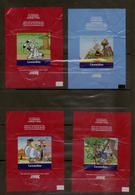 Lot De 15 Emballages De Chocolat Léonidas, ASTERIX (BD - Bande Dessinee) - Boeken, Tijdschriften, Stripverhalen