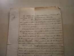 Ancien Document 1829  De Notaire ANTONIFSEN (ANTWERPEN)pour SILS Antonius - Manuscripts