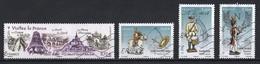 France 2012 : Timbres Yvert & Tellier N° 4661 - 4666 - 4668 - 4669 - 4706 Et 4707 Avec Oblit. Mécaniques. - Francia