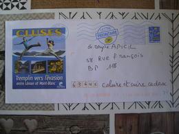 Haute Savoie 2007 Cluses Tremplin Vers L'évasion Entre Léman Et Mont-Blanc - Prêts-à-poster:Overprinting/Blue Logo