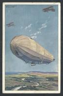 +++ CPA - Aviation - Ballon - Dirigeable - ZEPPELIN   // - Dirigeables