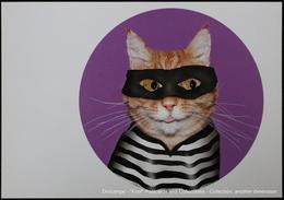 Famous Faces TAKKODA Pets Celebrity Photography Dog Célébrités Animal Chat Photographie PRISONNIER Cat PRISONER - Bagne & Bagnards