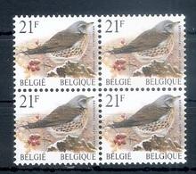 BELGIE * Buzin * Nr 2792 * Postfris Xx * WIT  PAPIER - 1985-.. Birds (Buzin)