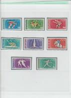 Ungheria 1968 -  (Yvert) A301/08** Giochi Olimpici Messico 1968 - Zomer 1968: Mexico-City