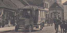 RARE OLD  POSTCARD - BOSNIA - POST AUTO - BUS - BANJALUKA - AUTOMOBILLINIE BANJALUKA - JAJCE - Bosnie-Herzegovine