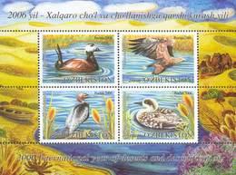 Uzbekistan 2006. Year Of Deserts. Fauna. Water Birds - Ouzbékistan