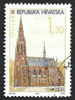 CROATIE 1995 - YT 317 - Osijek-  Oblitéré - Croatie